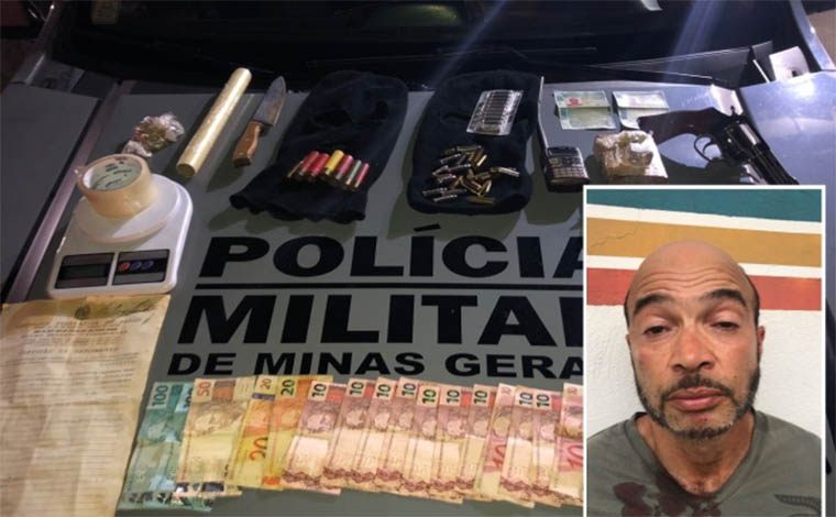 Membro do Comando Vermelho é preso em Ribeirão das Neves