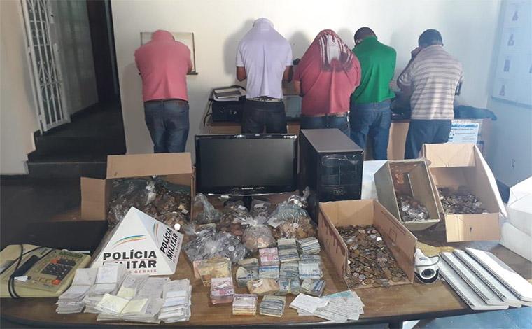 Cinco pessoas são presas em operação contra o jogo do bicho em Pedro Leopoldo