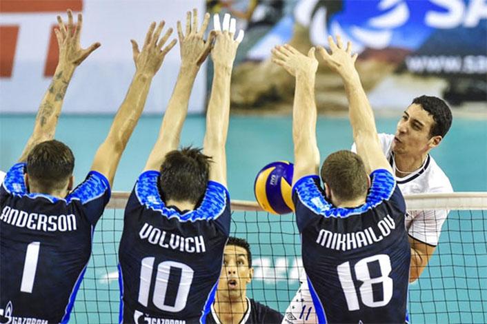 Sada Cruzeiro vence Zenit e termina em primeiro no Grupo A