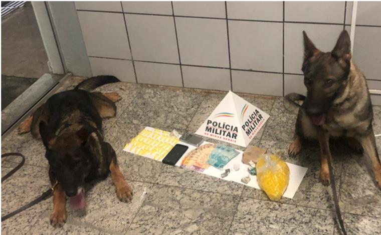 Giro Policial – Polícia Militar prende autores de tráfico de drogas e apreende armas de fogos