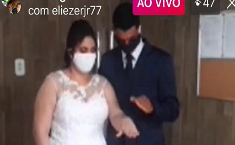 Coronavírus: Juiz celebra primeiro casamento por videoconferência