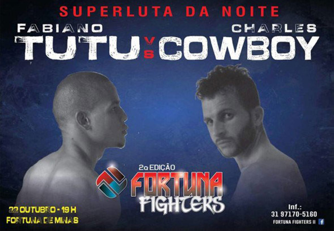 Fortuna de Minas tem competição de MMA neste sábado (22)