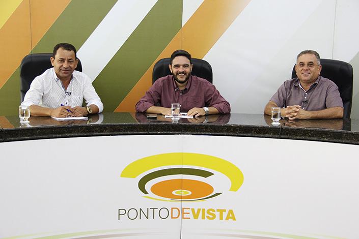 Ismael Soares e Milton Martins participam do Ponto de Vista
