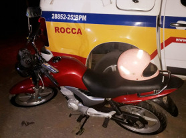Polícia Militar prende autor por roubo de motocicleta no bairro Panorama