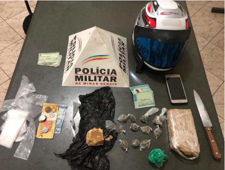 Polícia Militar prende autor por tráfico de drogas após intensa perseguição