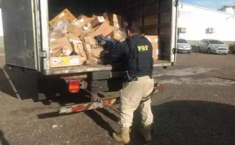 PRF prende assaltantes por roubo de carga farmacêutica avaliada em R$170 mil