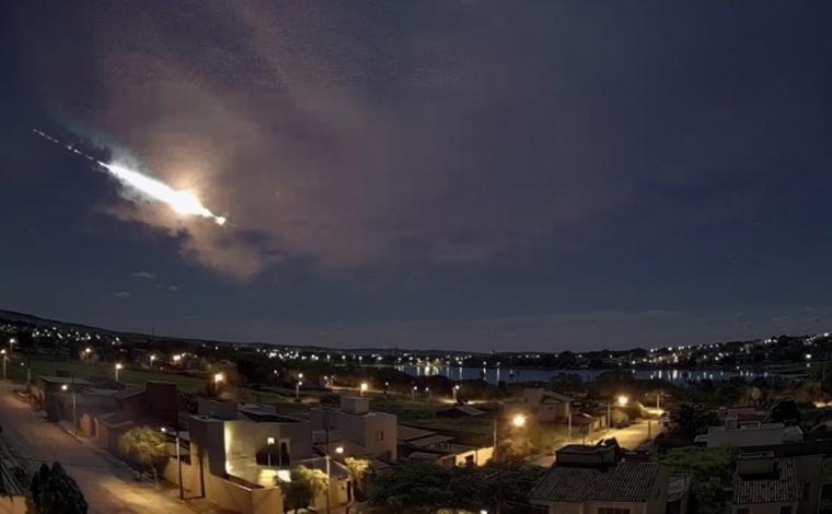 Meteoro cai em Minas Gerais e assusta moradores na Região Oeste do estado