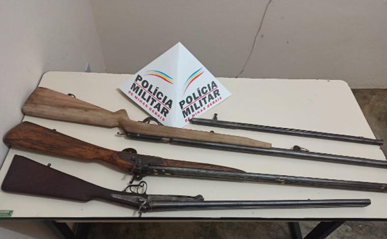 Polícia Militar prende autores por porte ilegal de arma de fogo e pelo crime de roubo