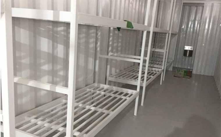 Conselho proíbe uso de contêineres para separar presos positivados para covid-19