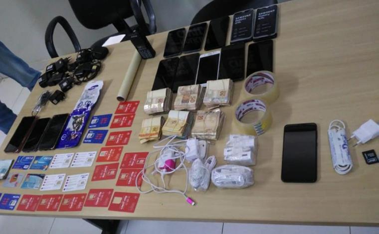 Agente penitenciário é preso por ingressar com celulares, drogas e carregadores na Nelson Hungria