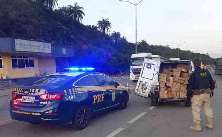 Quadrilha especializada em roubo de cargas é presa pela Polícia Federal