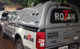 Homens são presos com drogas e armamento das Forças Armadas