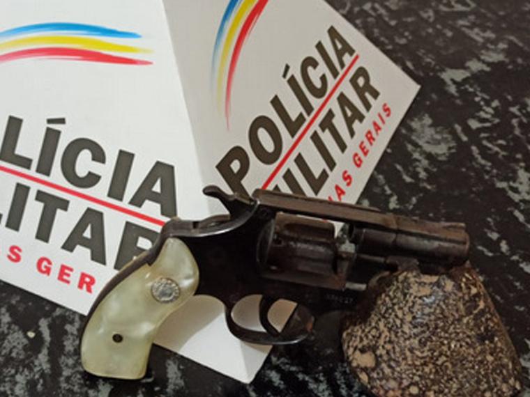 Polícia Militar recupera celular roubado em Sete Lagoas e apreende arma de fogo em Cordisburgo