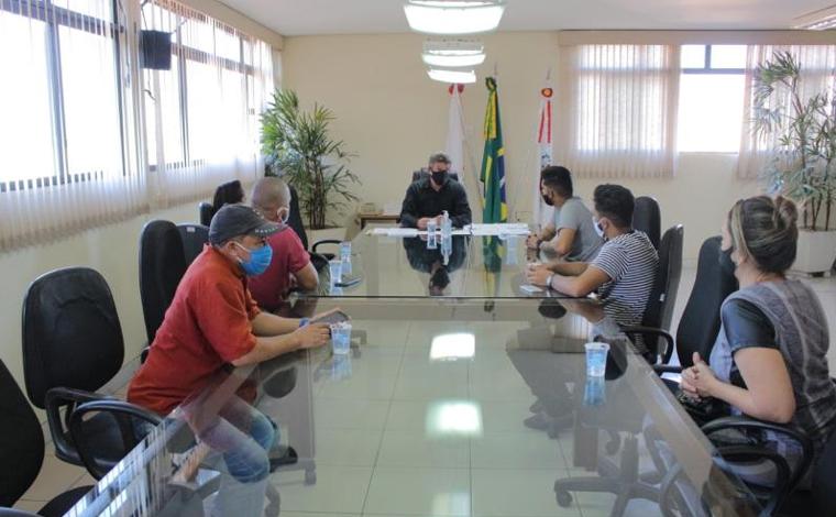 Representantes de segmento de salões se reúnem com prefeito para discutir medidas de flexibilização