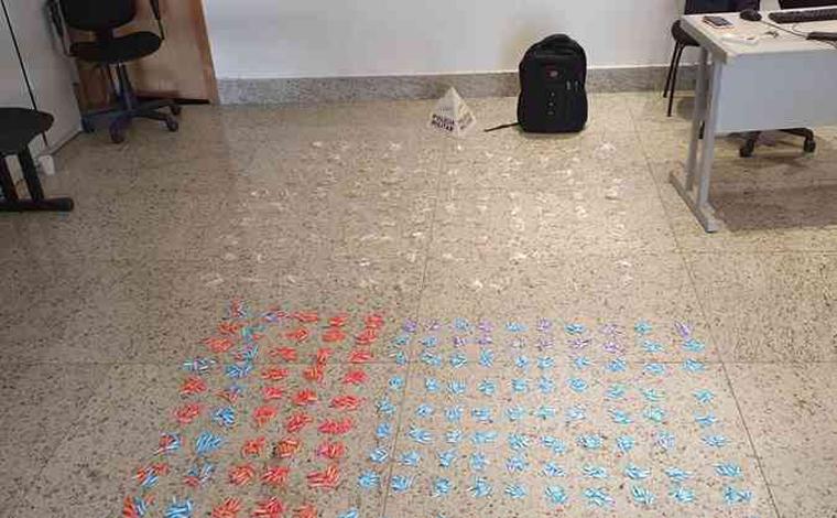 Polícia Militar prende em flagrante casal de traficantes com cocaína e crack