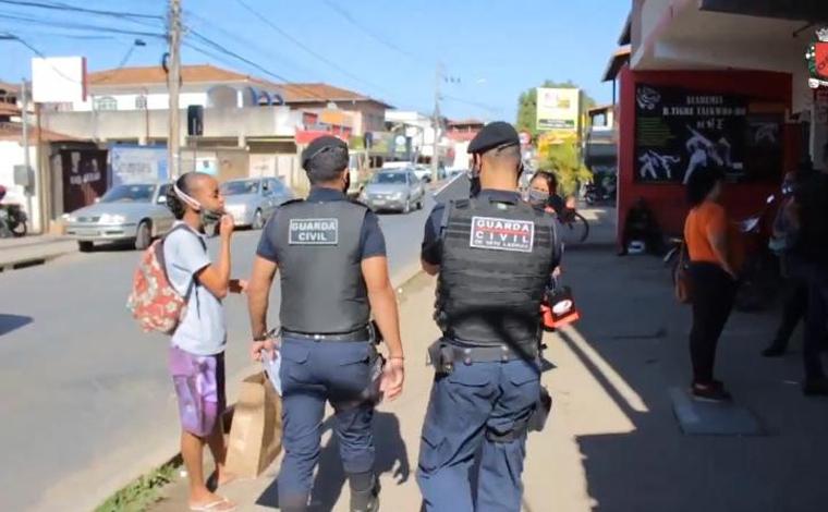 Foto: Divulgação/GCM - Até o dia 31 de maio, foram 3316 ocorrências voltadas para contenção da pandemia em diferentes situações, como denúncias de estabelecimentos abertos, aglomeração de pessoas, patrulhamento em locais públicos, entre outros