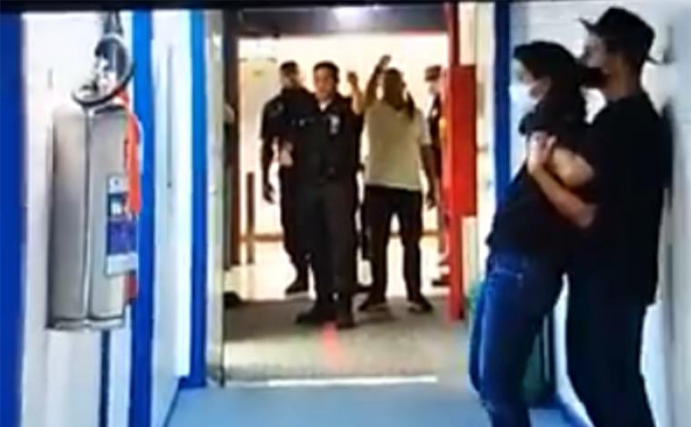 Homem com faca invade Rede Globo no Rio de Janeiro, ameaça jornalista e acaba preso
