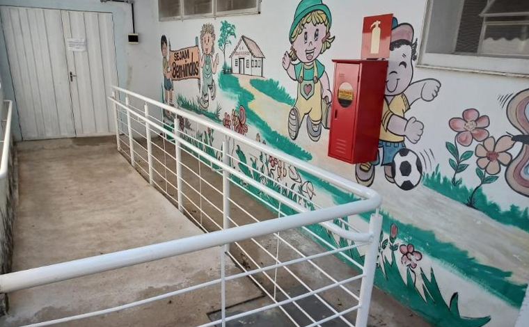 Escolas municipais de Sete Lagoas recebem obras para garantir mais segurança e acessibilidade