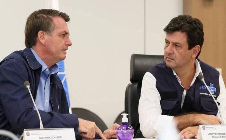 Jair Bolsonaro acusa Mandetta de alterar números da COVID-19 no Brasil, 'Deu uma inflada'