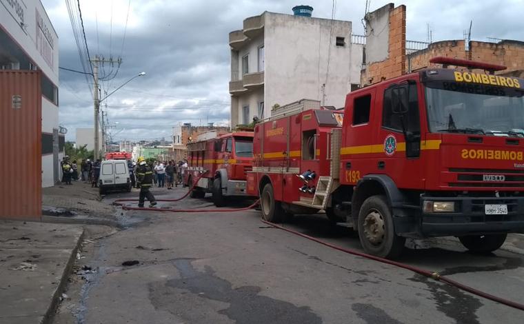 Duas pessoas morrem em explosão de fábrica de calçados em Nova Serrana