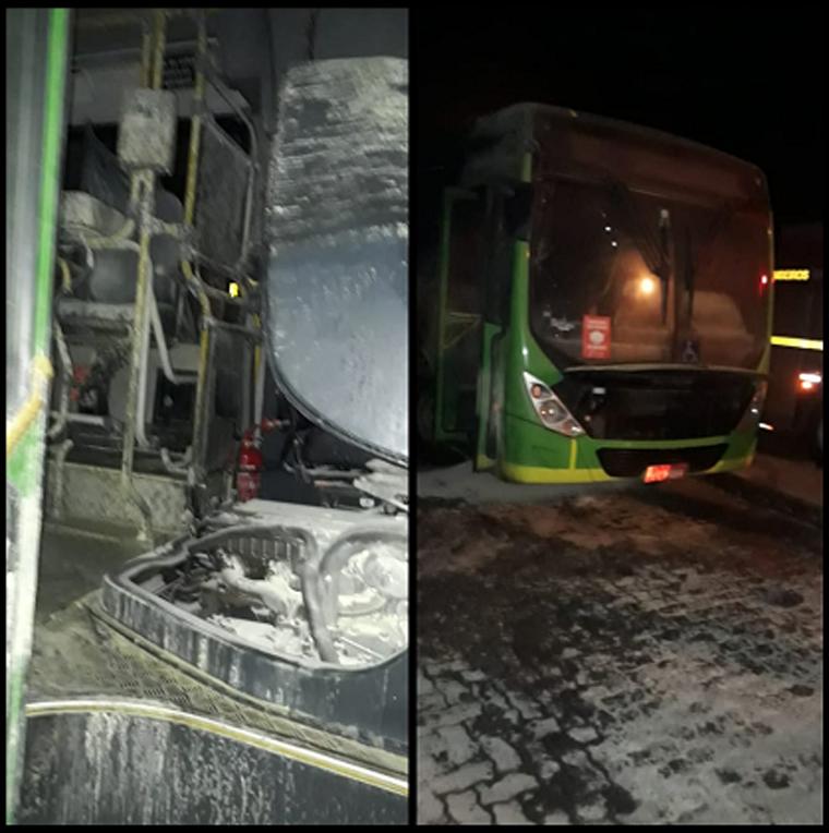 Ônibus da Turi é alvo de incêndio criminoso pela segunda vez neste ano