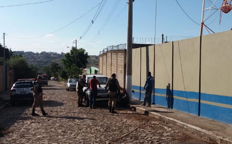 Cinco homens são presos roubando antenas de telefonia em Prudente de Morais