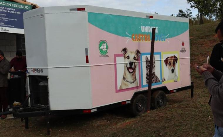 Foto: Divulgação/Ascom PSL - Ambas as unidades de saúde serão utilizadas para a castração de cães e gatos no município, porém o Castra Móvel atuará nos bairros mais afastados e zona rural de Sete Lagoas