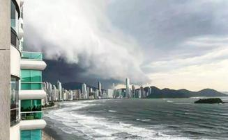 Novo ciclone extratropical pode se formar no Brasil nesta terça-feira