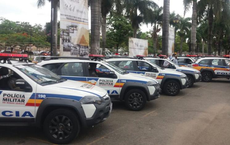 25º Batalhão da PM em Sete Lagoas ganha reforço de novas viaturas