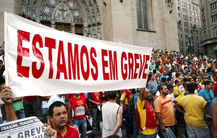 Servidores públicos em greve terão desconto no salário