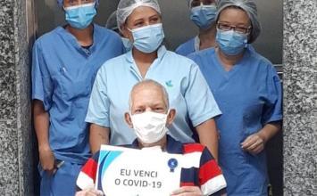 Emocionante: Pacientes curados do coronavírus e suas histórias de superação