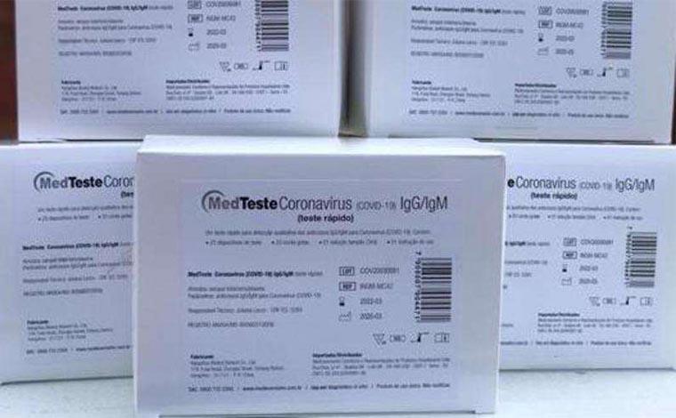 Mulher tenta dar golpe e vender 1 milhão de testes falsos de COVID-19 ao estado