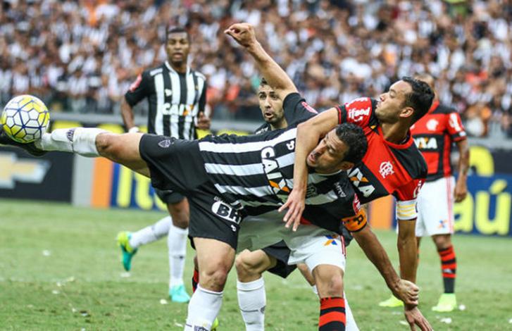 Em grande jogo, Galo e Flamengo empatam no Mineirão