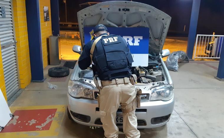 Polícia Rodoviária de Sete Lagoas recupera veículo roubado em Vespasiano
