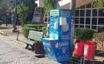 Totens de higienização são instalados em pontos estratégicos de Sete Lagoas
