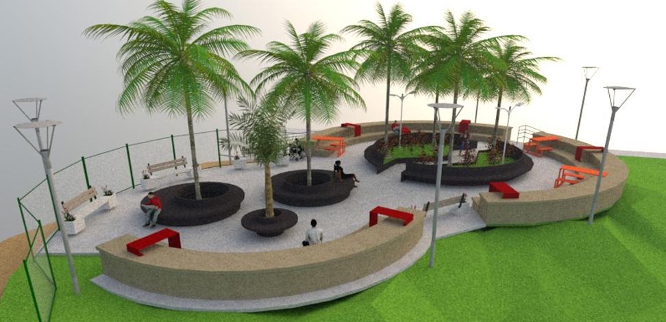Nova praça será construída dentro do Parque Náutico da Boa Vista em Sete Lagoas