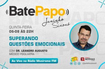 Rádio Musirama estreia programa 'BATE PAPO' com tema 'Superando as Questões Emocionais'