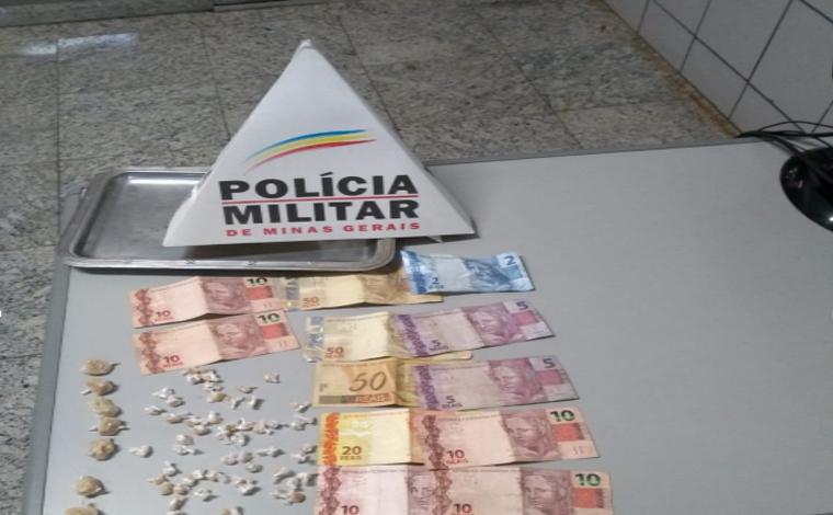 Homem é preso por tráfico de drogas e receptação de produtos criminosos em Sete Lagoas