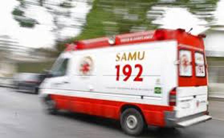 Homem é preso após furtar ambulância do Samu em cidade do interior de Minas