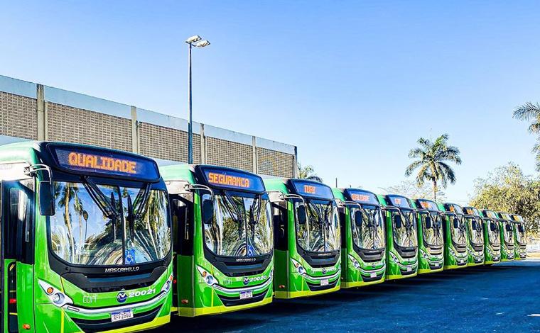 Sete Lagoas recebe 11 novos ônibus e comemora um ano da unificação da bilhetagem eletrônica