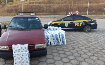Homens são presos por saquear carga de papel higiênico após acidente na BR–381