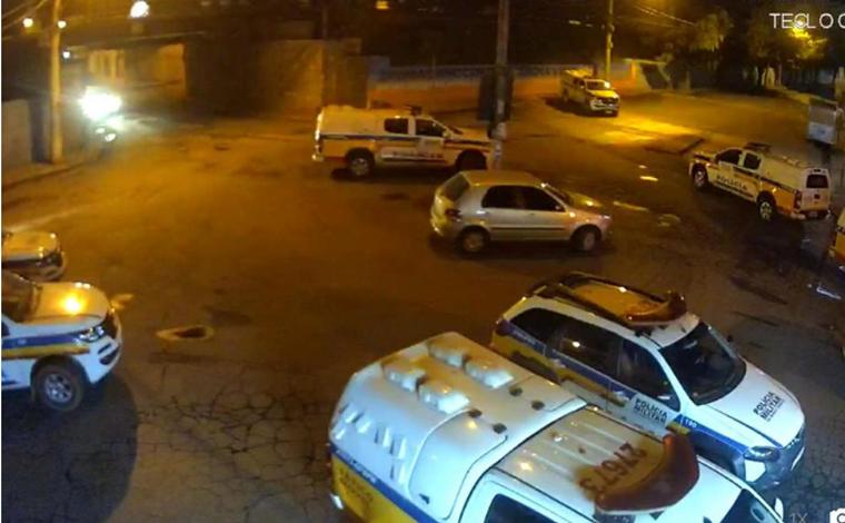 Após explodirem agência bancaria três criminosos morrem em troca de tiros com PM em Brumadinho