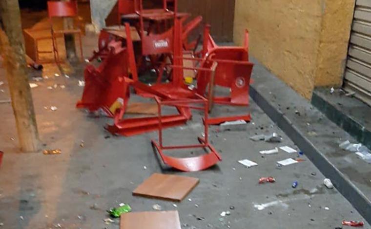 Homem é baleado durante confusão em estabelecimento de Cordisburgo