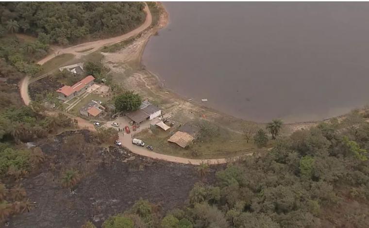 Bombeiros encontram corpo de idoso que desapareceu na lagoa Várzea das Flores