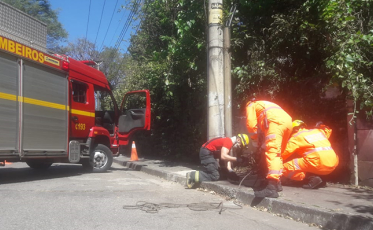 Corpo é encontrado dentro de caixa de fiação subterrânea da Cemig em Belo Horizonte