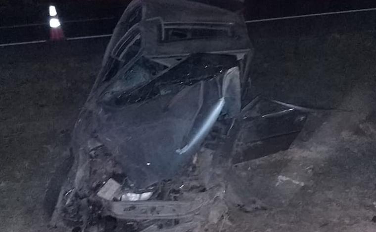 Duas pessoas morrem em grave acidente na região da Gineta em Sete Lagoas