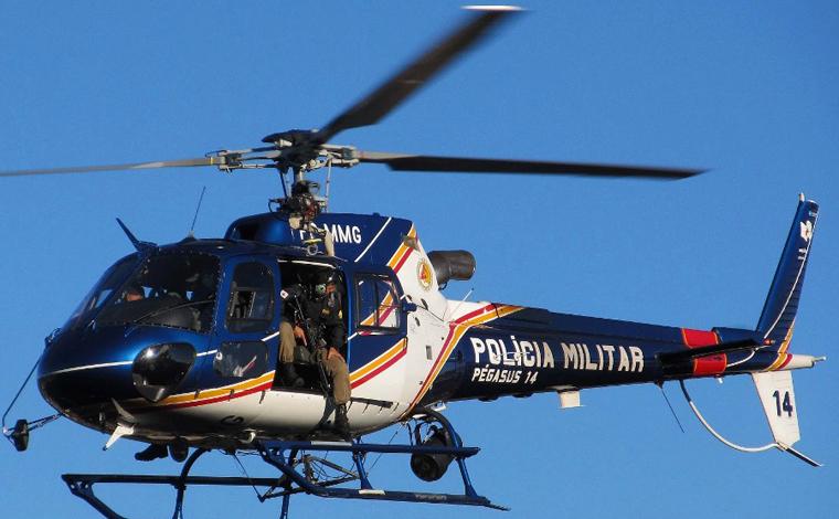 Homem é esfaqueado no bairro Universitário e helicóptero sobrevoa Sete Lagoas na captura do suspeito