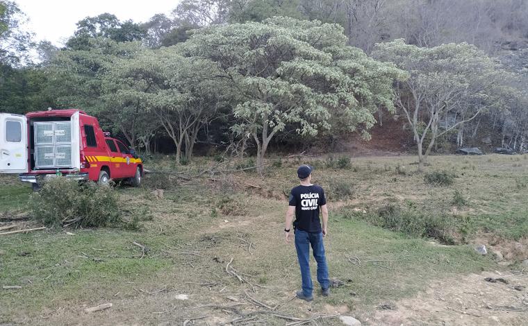 Corpo de homem é encontrado na Serra Santa Helena em Sete Lagoas