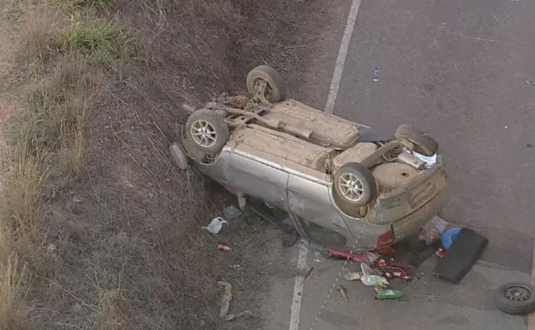 Menina de cinco anos morre em grave acidente na rodovia MG-020; mãe admite ter bebido