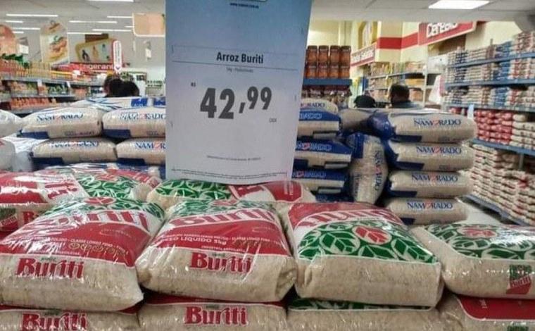 Preço do arroz dispara e pacote já é encontrado por mais de R$ 40 em diversas regiões do Brasil